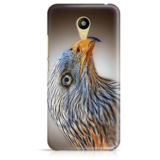 YuBingo Beautiful Bird with Yellow Beak Designer Mobile Case Back Cover for Meizu M3