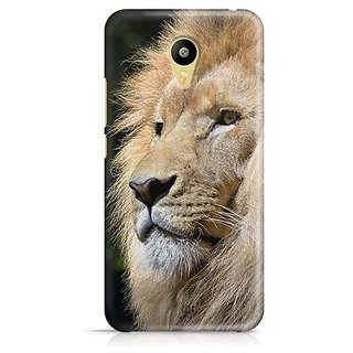 YuBingo Lion Designer Mobile Case Back Cover for Meizu M3