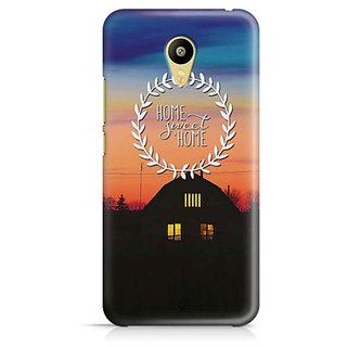 YuBingo Home Sweet Home Designer Mobile Case Back Cover for Meizu M3