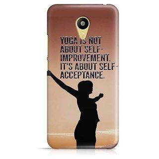 YuBingo Self Acceptance Designer Mobile Case Back Cover for Meizu M3
