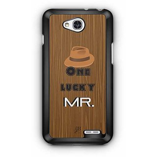 YuBingo One Lucky Mr. Designer Mobile Case Back Cover for LG L90