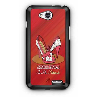 YuBingo Stilleto is an Attitude Designer Mobile Case Back Cover for LG L90