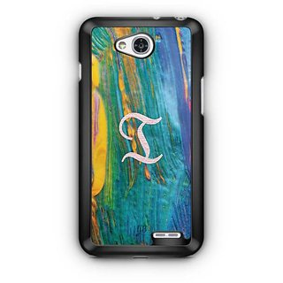 YuBingo Monogram with Beautifully Written Funky Colourful Paint Finish letter I Designer Mobile Case Back Cover for LG L90