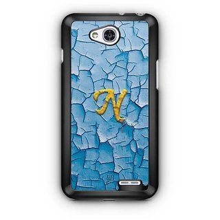 YuBingo Monogram with Beautifully Written Funky Colourful Paint Finish letter N Designer Mobile Case Back Cover for LG L90