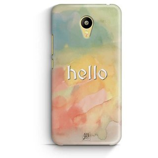 YuBingo Hello Designer Mobile Case Back Cover for Meizu M3