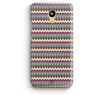 YuBingo Colourful Feathers Pattern Designer Mobile Case Back Cover for Meizu M3