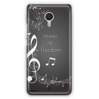 YuBingo Music is Freedom Designer Mobile Case Back Cover for Meizu M3 Note