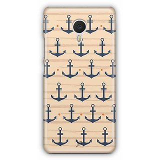 YuBingo Anchors Designer Mobile Case Back Cover for Meizu M3 Note