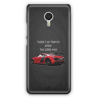 YuBingo There is no Traffic after the Extra Mile Designer Mobile Case Back Cover for Meizu M3 Note