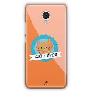 YuBingo Cat Lover Designer Mobile Case Back Cover for Meizu M3 Note