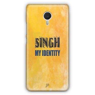 YuBingo Singh My Identity Designer Mobile Case Back Cover for Meizu M3 Note