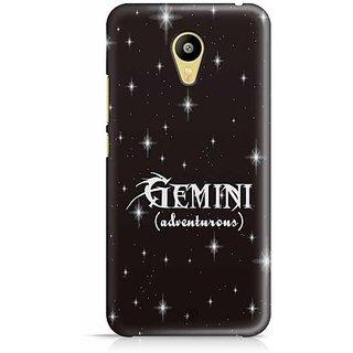 YuBingo Gemini (Adventurous) Designer Mobile Case Back Cover for Meizu M3