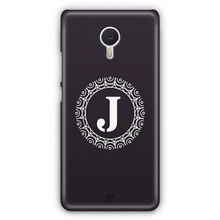 YuBingo Monogram with Beautifully Written letter J Designer Mobile Case Back Cover for Meizu M3 Note
