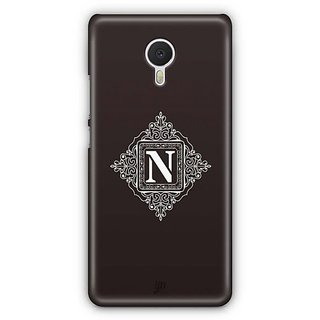 YuBingo Monogram with Beautifully Written letter N Designer Mobile Case Back Cover for Meizu M3 Note