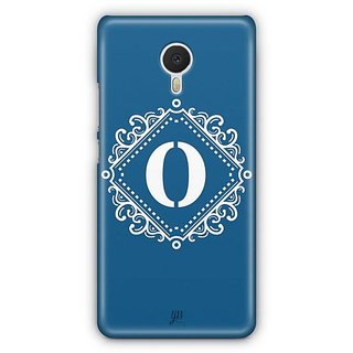 YuBingo Monogram with Beautifully Written letter O Designer Mobile Case Back Cover for Meizu M3 Note