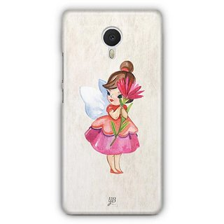 YuBingo Loving Fairy Designer Mobile Case Back Cover for Meizu M3 Note
