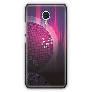 YuBingo Disco Background Designer Mobile Case Back Cover for Meizu M3 Note