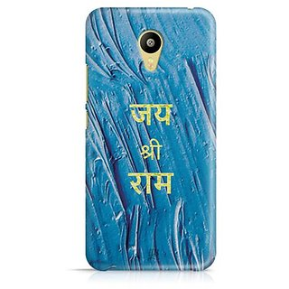 YuBingo Jai Shri Ram Designer Mobile Case Back Cover for Meizu M3