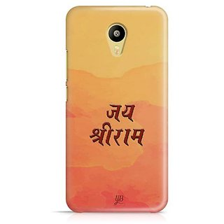 YuBingo Shri Ram Designer Mobile Case Back Cover for Meizu M3