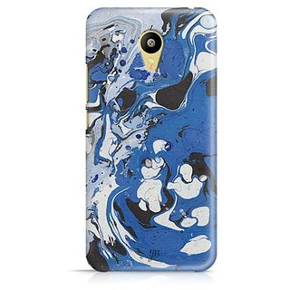 YuBingo Blue Black Marble Finish (Plastic) Designer Mobile Case Back Cover for Meizu M3