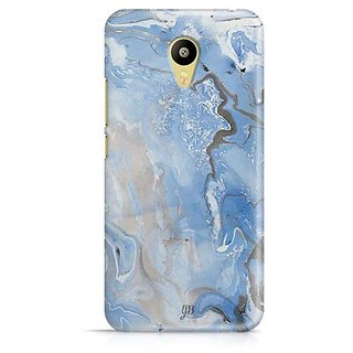 YuBingo Classic Marble Finish (Plastic) Designer Mobile Case Back Cover for Meizu M3