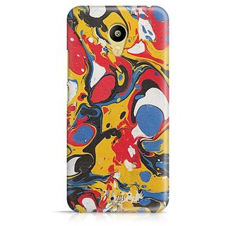 YuBingo Colourful Marble Finish (Plastic) Designer Mobile Case Back Cover for Meizu M3