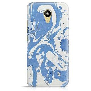 YuBingo Classic Blue Marble Finish (Plastic) Designer Mobile Case Back Cover for Meizu M3