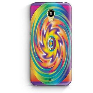 YuBingo Colourful Circular Pattern Designer Mobile Case Back Cover for Meizu M3