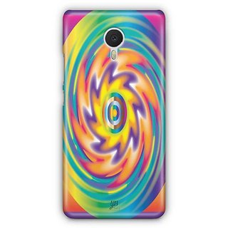 YuBingo Colourful Circular Pattern Designer Mobile Case Back Cover for Meizu M3 Note