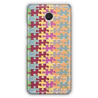 YuBingo Puzzle Patterns Designer Mobile Case Back Cover for Meizu M3 Note