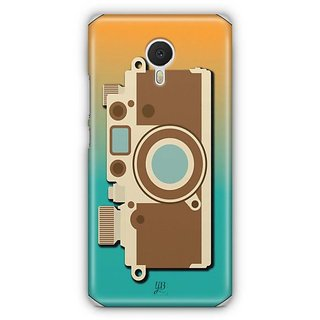 YuBingo Vintage Camera Designer Mobile Case Back Cover for Meizu M3 Note