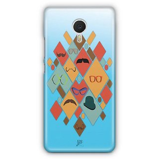 YuBingo Glasses & Moustaches Designer Mobile Case Back Cover for Meizu M3 Note