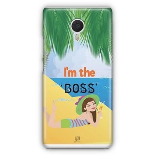 YuBingo I'm the Boss Designer Mobile Case Back Cover for Meizu M3 Note