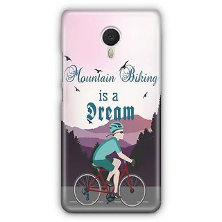 YuBingo Mountain Biking is a Dream Designer Mobile Case Back Cover for Meizu M3 Note