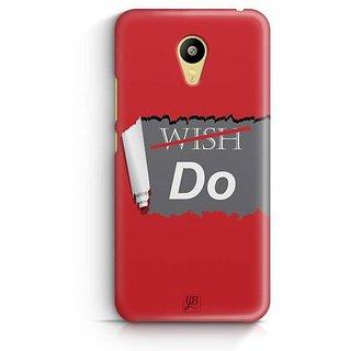 YuBingo Don't Just Wish. Do it. Designer Mobile Case Back Cover for Meizu M3