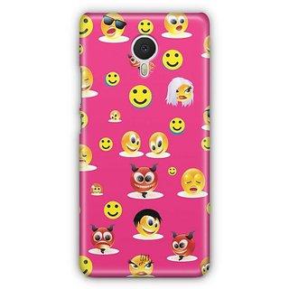 YuBingo Smileys in Various Avatars Designer Mobile Case Back Cover for Meizu M3 Note