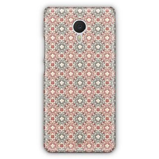 YuBingo Square Patterns Designer Mobile Case Back Cover for Meizu M3 Note