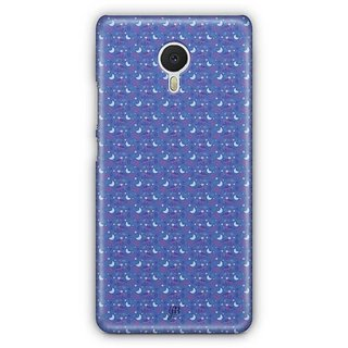 YuBingo Moon and Stars Designer Mobile Case Back Cover for Meizu M3 Note