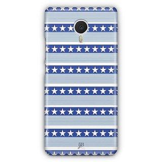 YuBingo Stars and Stripes Designer Mobile Case Back Cover for Meizu M3 Note