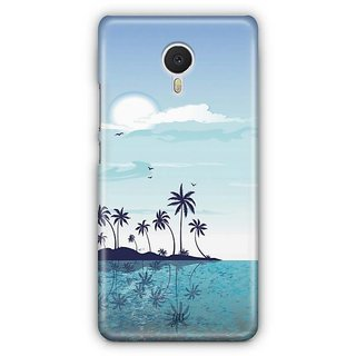 YuBingo Beach and Sky Designer Mobile Case Back Cover for Meizu M3 Note