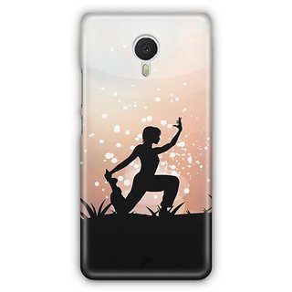 YuBingo The Yoga Pose Designer Mobile Case Back Cover for Meizu M3 Note