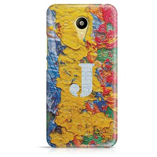 YuBingo Monogram with Beautifully Written Funky Colourful Paint Finish letter J Designer Mobile Case Back Cover for Meizu M3