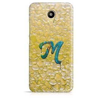 YuBingo Monogram with Beautifully Written Funky Colourful Paint Finish letter M Designer Mobile Case Back Cover for Meizu M3