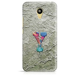 YuBingo Monogram with Beautifully Written Funky Colourful Paint Finish letter Y Designer Mobile Case Back Cover for Meizu M3
