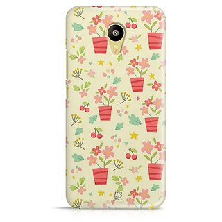 YuBingo Flowers with Vase Designer Mobile Case Back Cover for Meizu M3