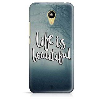 YuBingo Life is beautiful Designer Mobile Case Back Cover for Meizu M3