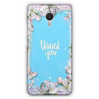 YuBingo Thank You Designer Mobile Case Back Cover for Meizu M3 Note