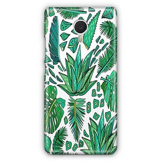 YuBingo Leafy pattern Designer Mobile Case Back Cover for Meizu M3 Note