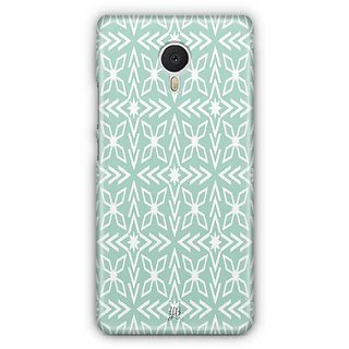 YuBingo Green pattern Designer Mobile Case Back Cover for Meizu M3 Note