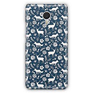 YuBingo Deer and fox pattern Designer Mobile Case Back Cover for Meizu M3 Note